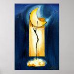 Moon Dance by Artist Alfred Gockel Poster
