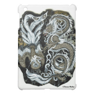 Moon Dance Dragon and Phoenix iPad Case