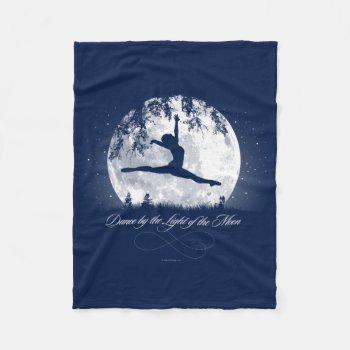 Moon Dance Fleece Blanket by eBrushDesign at Zazzle