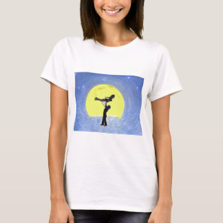 Moon Dancers by Edmond Hogge Jr T-Shirt