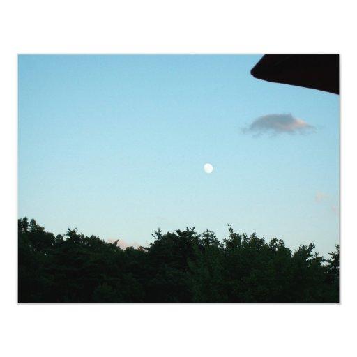 """moon_day_break invitación 4.25"""" x 5.5"""""""