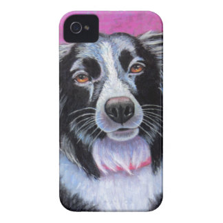 Moon Dog Border Collie iPhone 4 Case