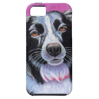 Moon Dog Border Collie iPhone SE/5/5s Case