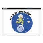 """Moon Doggie Decals For 17"""" Laptops"""