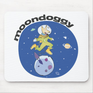 Moon Doggie Mouse Pad