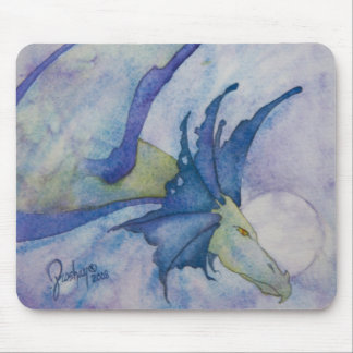 Moon Dragon Mouse Pad