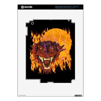 Moon Dragon Zazzle Skin Decals For iPad 3