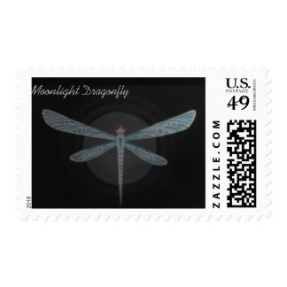 Moon Dragonfly Stamp