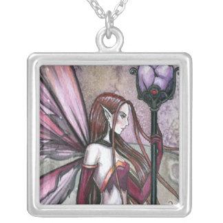 Moon Dream Fairy Pendant Necklace