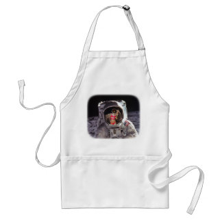 Moon Dream Or First Encounter Apron