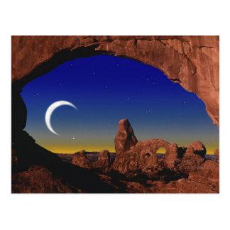 Moon Dream Postcard