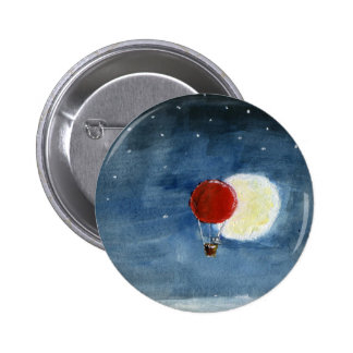 Moon Eclipse Pinback Button