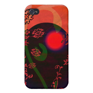 Moon Egg iPhone 4 Cover