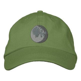 Moon Embroidered Baseball Cap