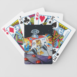 MOON EXPLORER BICYCLE PLAYING CARDS