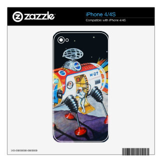 MOON EXPLORER SKIN FOR THE iPhone 4