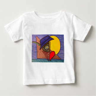 Moon Eye Flow Fly Baby T-Shirt