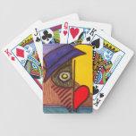 Moon Eye Flow Fly Poker Deck