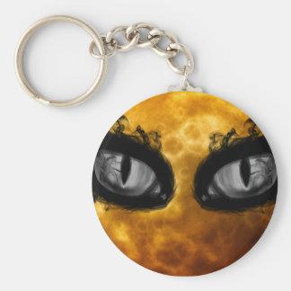 Moon eyes keychain
