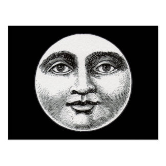 Moon Face Postcard