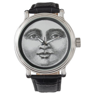 Moon Face Wristwatches