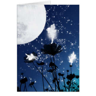 Moon Faeries Greeting Card