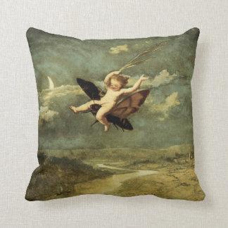 """Moon Fairies II"" by John Naish - Pillow"