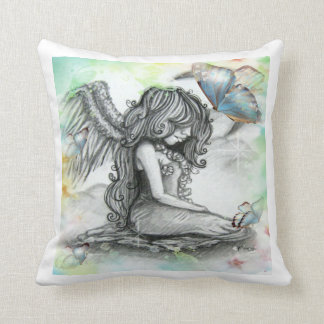 Moon Fairy & Butterflies Pillow