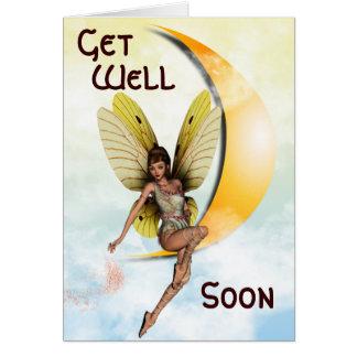 Moon Fairy Greeting Card