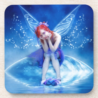 Moon Fairy Drink Coaster