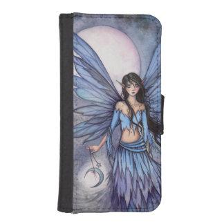 Moon Fairy Fantasy Art Illustration Phone Wallet Cases