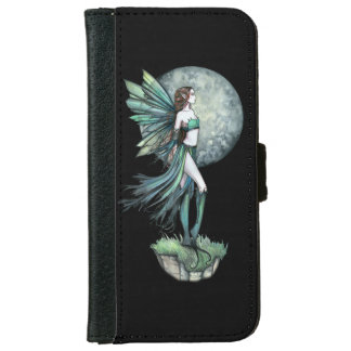 Moon Fairy Fantasy Art Illustration Wallet Phone Case For iPhone 6/6s