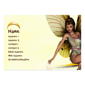 Moon Fairy Large Business Card