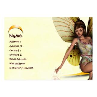 Moon Fairy Large Business Card