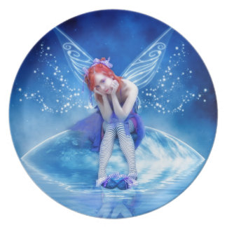 Moon Fairy Party Plate