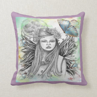 Moon Fairy Pillow Lavender