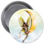 Moon Fairy Pinback Button