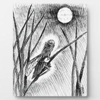 Moon Fairy Photo Plaques