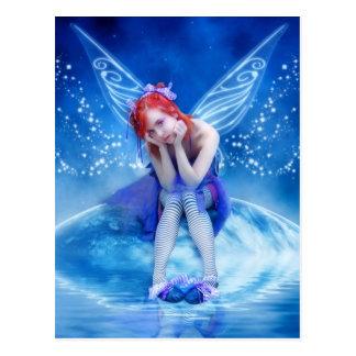 Moon Fairy Postcard