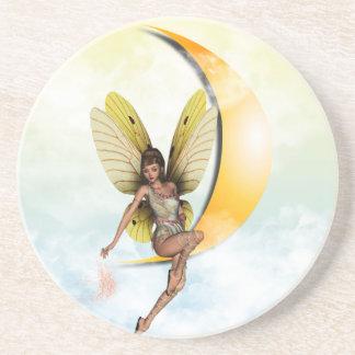 Moon Fairy Sandstone Coaster