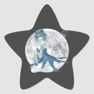 Moon Fairy Star shaped Stickers