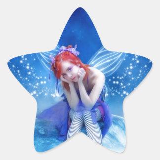Moon Fairy Star Sticker