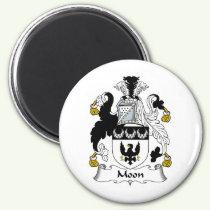 Moon Family Crest Magnet
