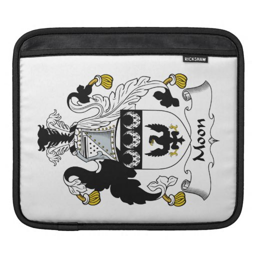 Moon Family Crest Sleeve For iPads