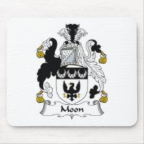 Moon Family Crest Mousepad