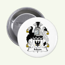 Moon Family Crest Button