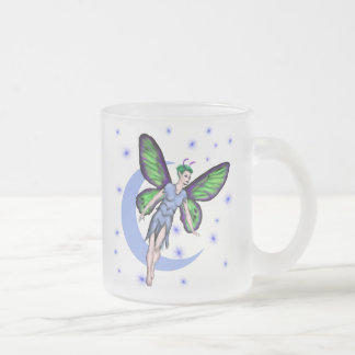 Moon Fey Frosted Glass Coffee Mug