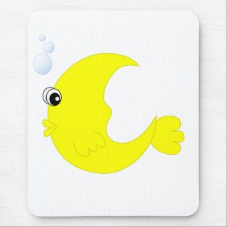 Moon Fish Mouse Pad