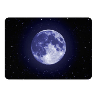 Moon from Earth Card