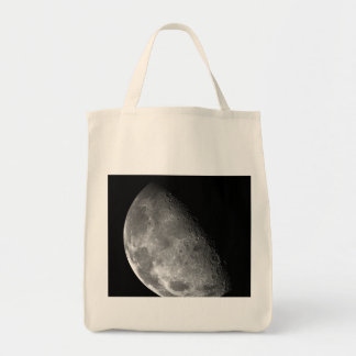 Moon from Galileo Planetary Space Mission Canvas Bag